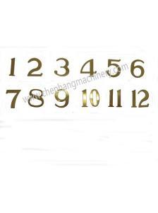 Numerals Set 6